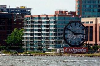 Clgate Clock -Across from Battery Park