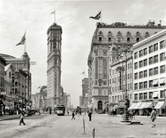 Old Times Square 1908