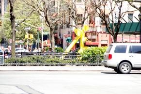 Sculpture ? in park