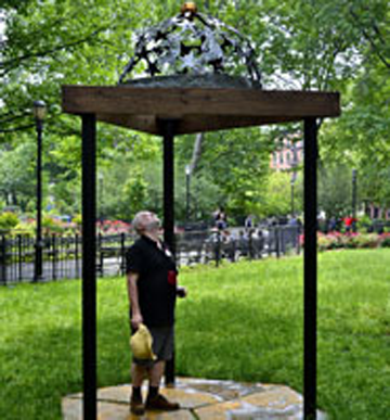 Jorge Luis Rodriguez, Oracle of the Past, Present and Future June 6, 2015 to May 1, 2016 Tompkins Square Park, Manhattan