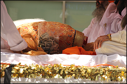 The Sikh Scripture is called 'Guru Granth Sahib'.