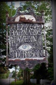 sign Barnard Tavern