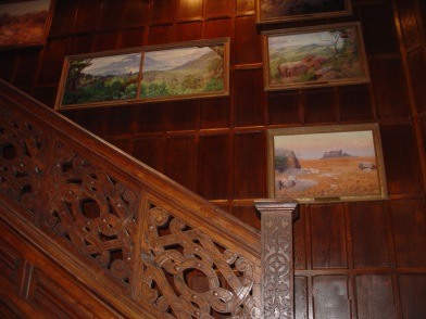 stairway paintings - African Landscapes