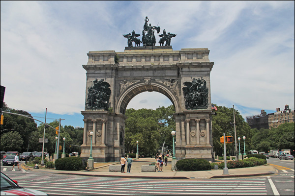 The NYC Arches -Grand Army Plaza – Washington Square Park – Others you may havemissed
