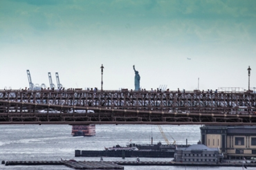 Manhattan bridge walkway-32