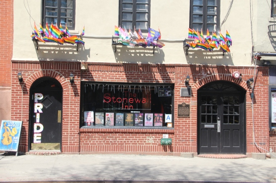 Original address of the Stonewall Inn, where a raid by the NYPD on June 27, 1969, resulted in a riot led by drag queens that sparked the gay liberation movement.