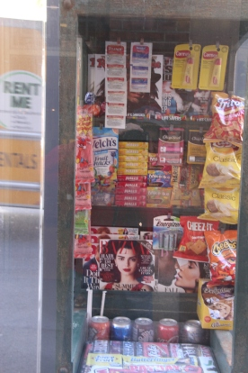Corner News stand