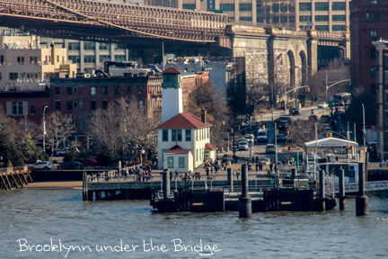 NYC – NYC FERRY (east river) and South street Seaport in